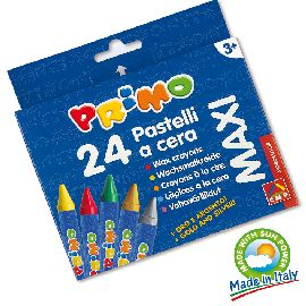 PASTELLI A CERA PRIMO 24PZ MAXI CMP