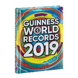 DIARIO POCKET 16 MESI  GUINNESS WORLD RECORDS 2019