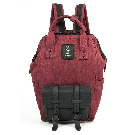 ZAINO REFRIGUE BACKPACK LIGHT RED BLACK
