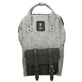 ZAINO REFRIGUE BACKPACK LIGHT GREY BLACK