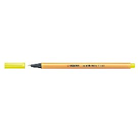 PENNA STABILO POINT88 0,4MM GIALLO NEON