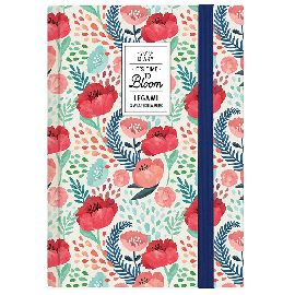AGENDA GIORNALIERA 9.5X13.5CM LEGAMI PHOTO FLOWER