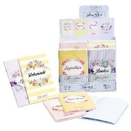 MINI QUADERNI COLOURBOOK CONF.4PZ FLOWER BOOK