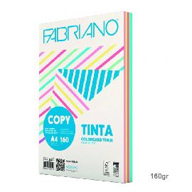 RISMA CARTA COLOR.TENUI A4 FABRIANO 160GR