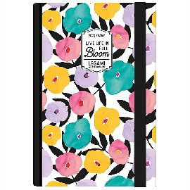AGENDA 12 MESI GIORNALIERA  SMALL PHOTO LEGAMI FLOWERS