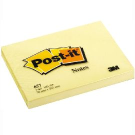 POST-IT NOTES 76MMX102MM GIALLO