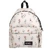 ZAINO PADDED PAK'R WILD WHITE FLOWERS EASTPAK
