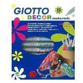 GIOTTO DECOR MATERIALS CONF 12PZ